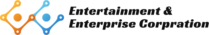 Entertainment & Enterprise社 ロゴ_ヨコver